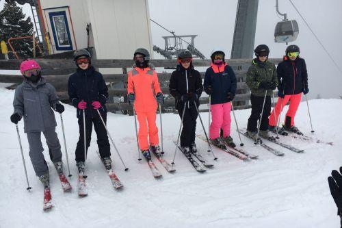 Skifahrt 1