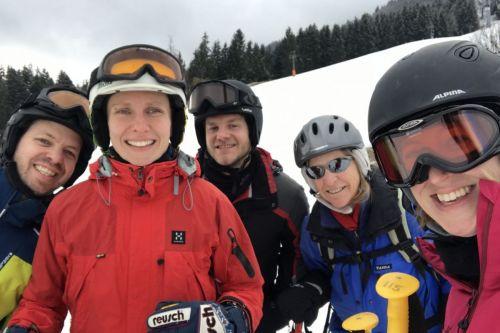 Skifahrt 4