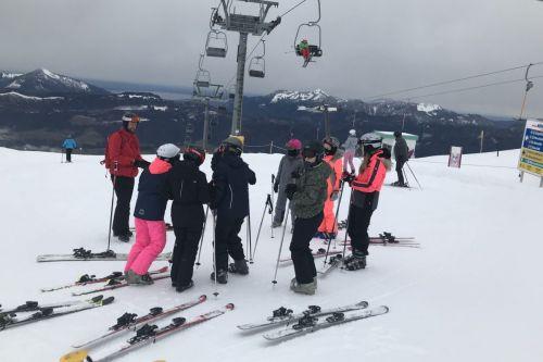 Skifahrt 5